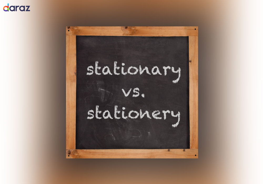 difference between stationary and stationery