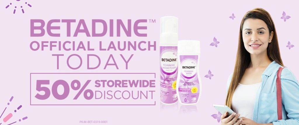 Betadine products in Pakistan