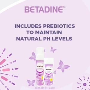 betadine feminine wash for bv