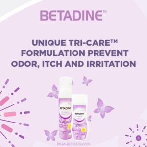 betadine feminine wash for itching