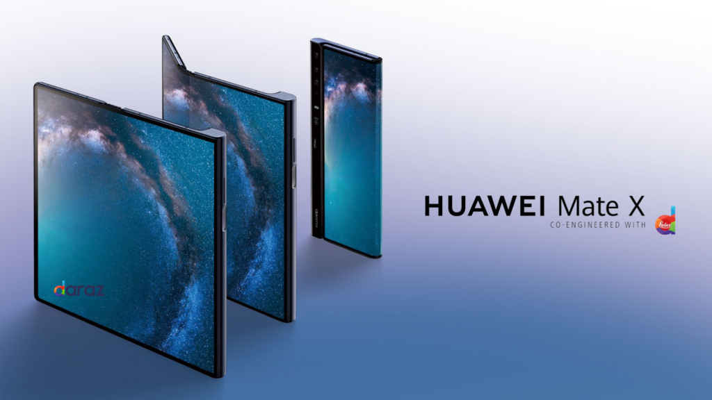 huawei mate x 5G foldable phone specs