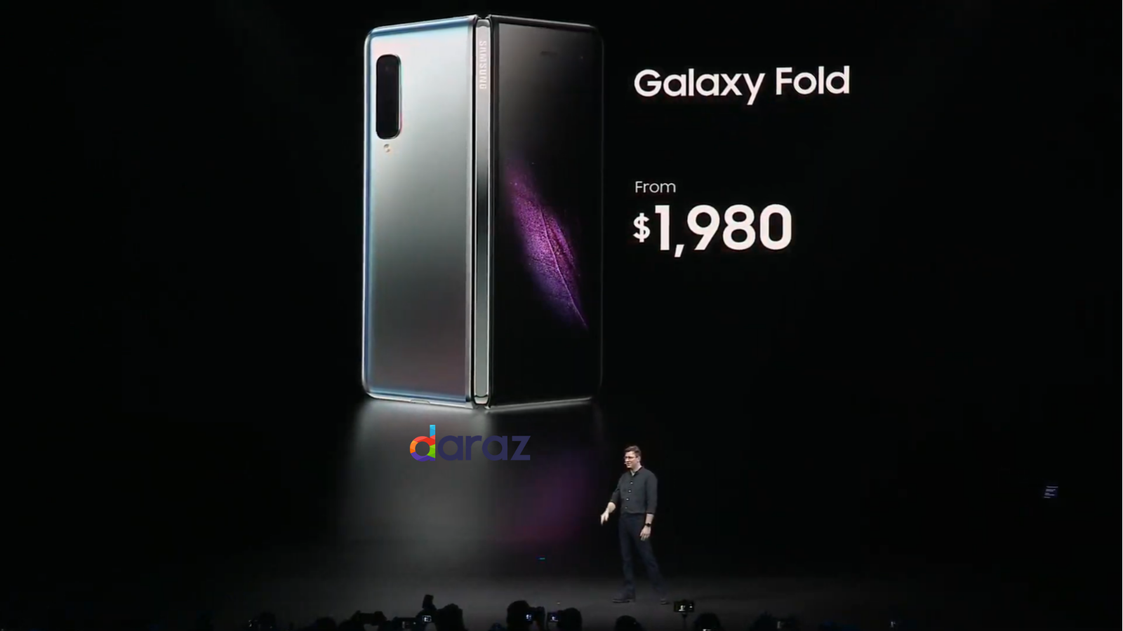 Samsung Galaxy Fold price in Pakistan 2019