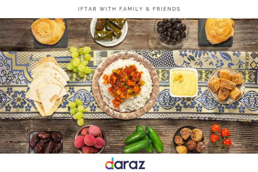 Ramadan 2019 Iftar with family - friends