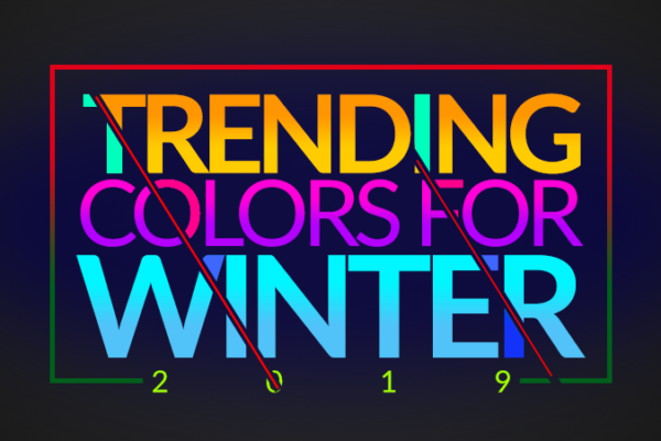 Trending Colors for Winter Season 2019 in Pakistan