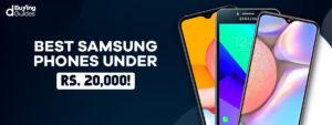 Samsung Mobiles Under 20000 in Pakistan in 2021