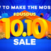 Make the Most of 10.10 Sale