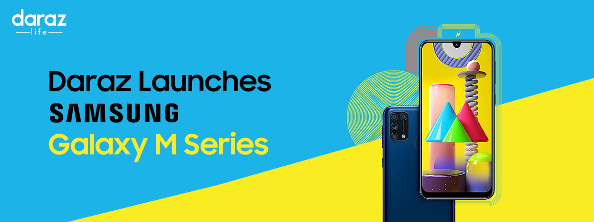 Daraz Introduces Samsung Galaxy M Series in Pakistan!