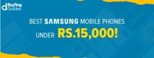 Samsung Phones Under 15000 in Pakistan in 2021