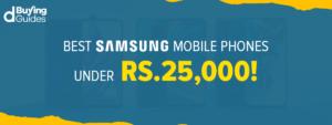 Samsung Mobiles Under 25000 in Pakistan in 2021