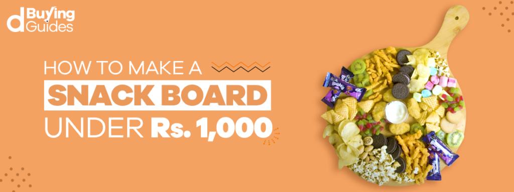 how to make snackboard in pakistan