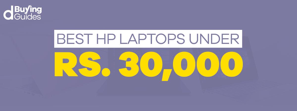 HP laptops under 30000