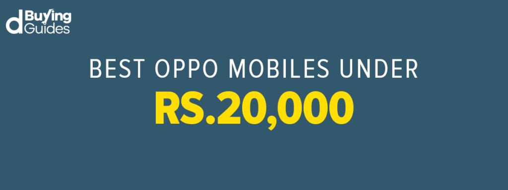 Oppo Mobiles under 20000 in Pakistan