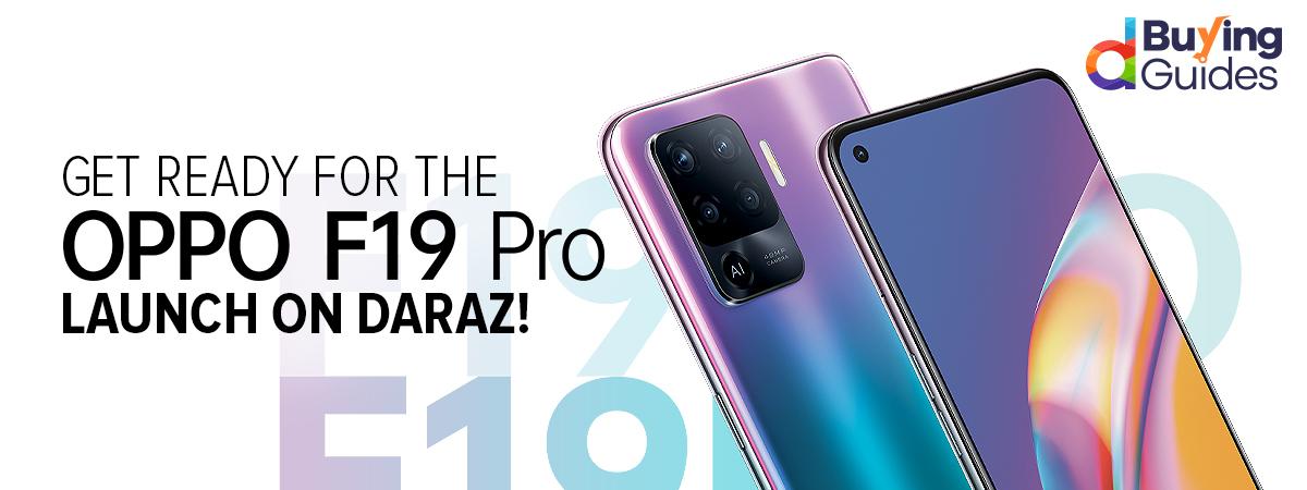 OPPO F19 Pro on Daraz