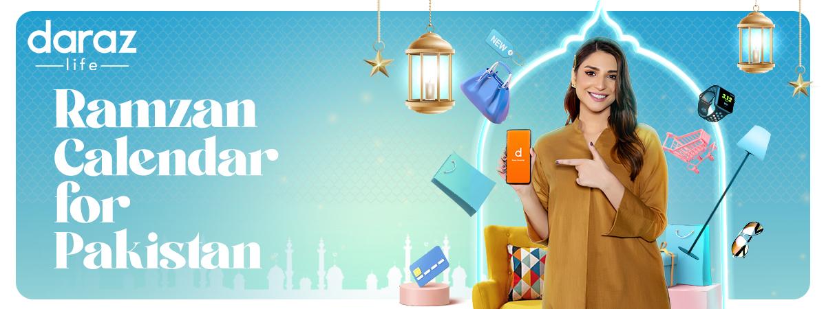 Ramadan Calendar 2021 in Pakistan - Daraz Life