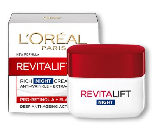 Loreal Revitalift Night Cream