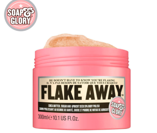 Soap and Glory body scrub and polish for dry skin