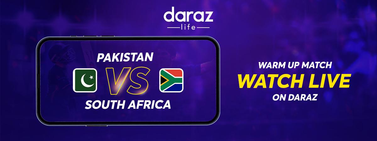 PAK vs SA Warm Match Time