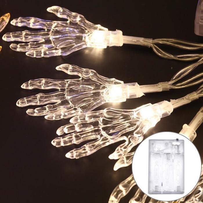 Ghost-Hand Design Halloween LED String Light