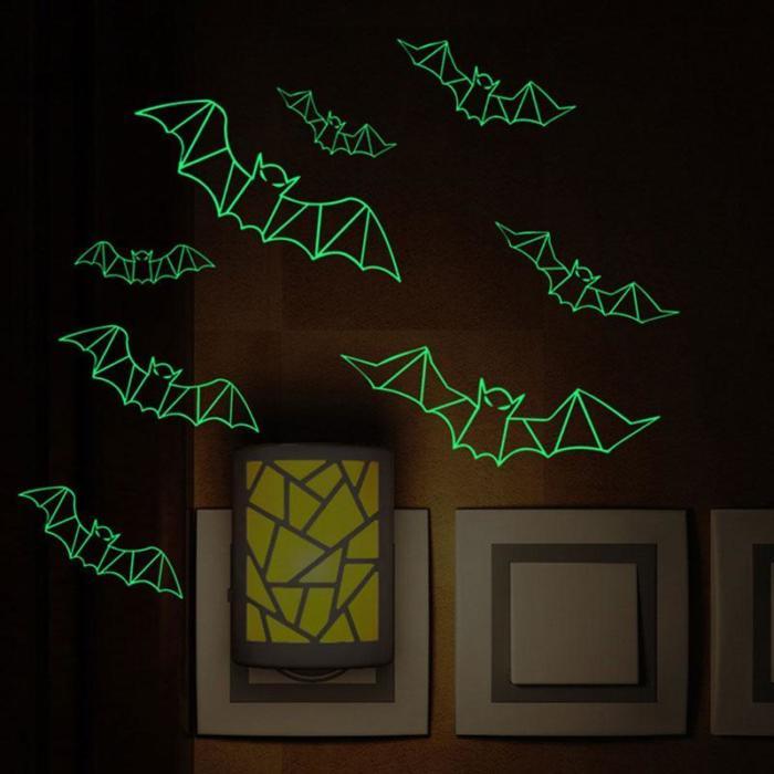 Luminous Bat Wall Sticker