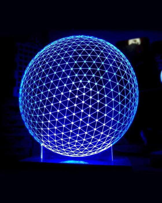 LED Sphere Lamp