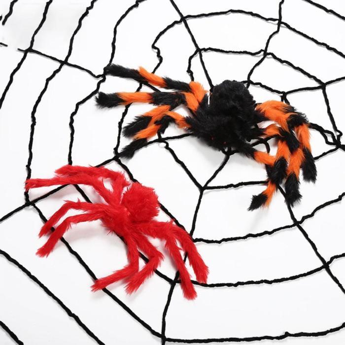 Spider and Spider Web Prop