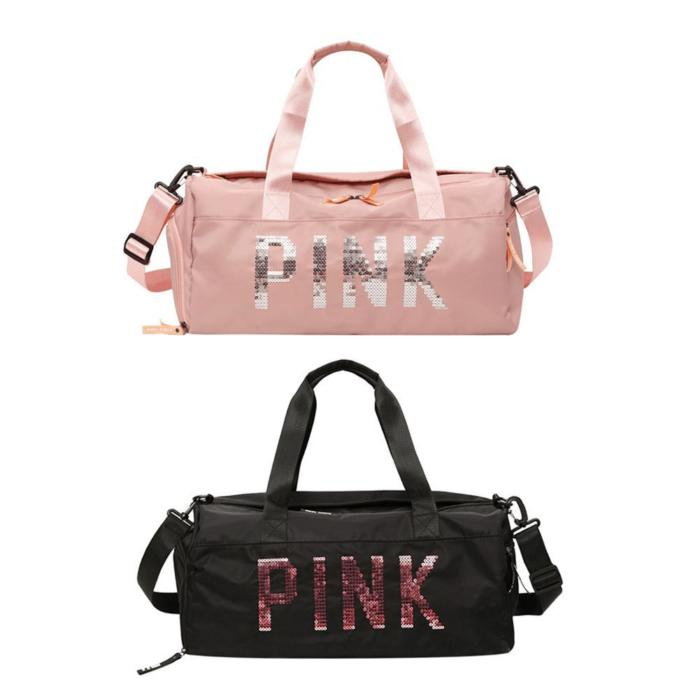Meeting Love Pink Sports Bags