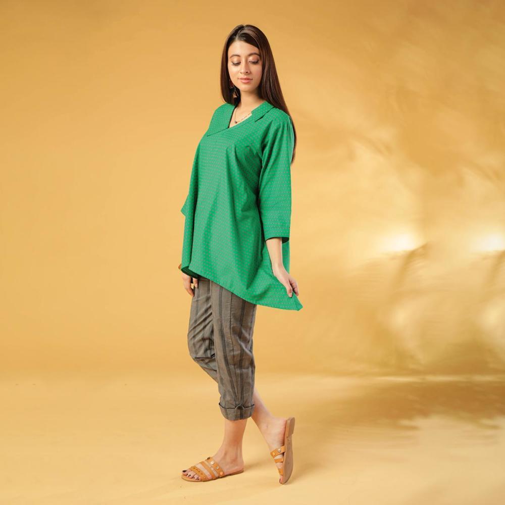 Maahru Green Lush Tunic