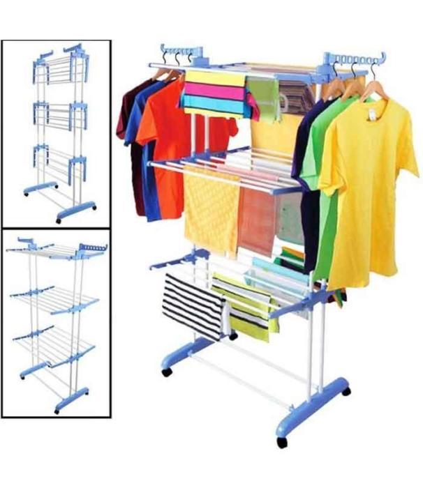 Clothing Line & Rack