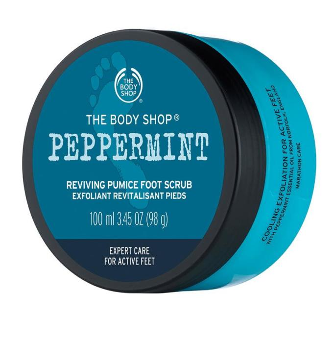 Body Shop Peppermint Foot Scrub