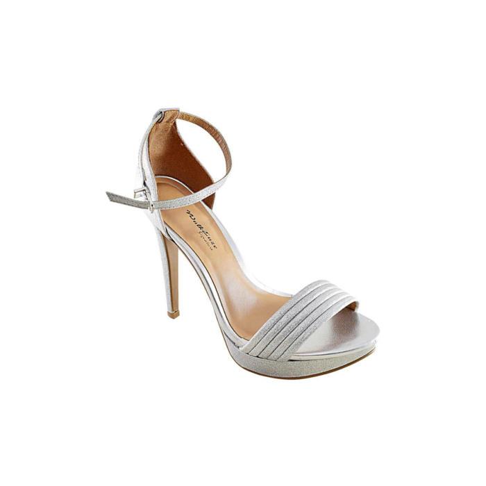 Stylish Silver Heels
