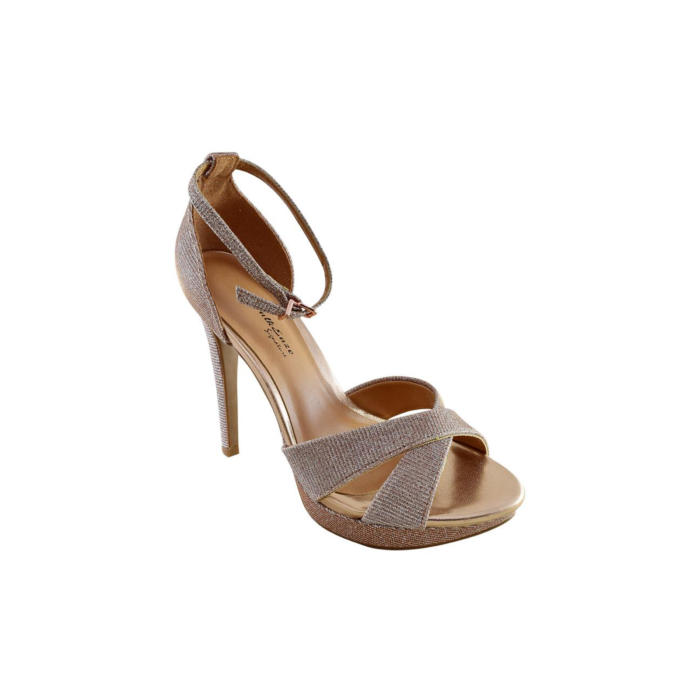 Stylish Gold Heels