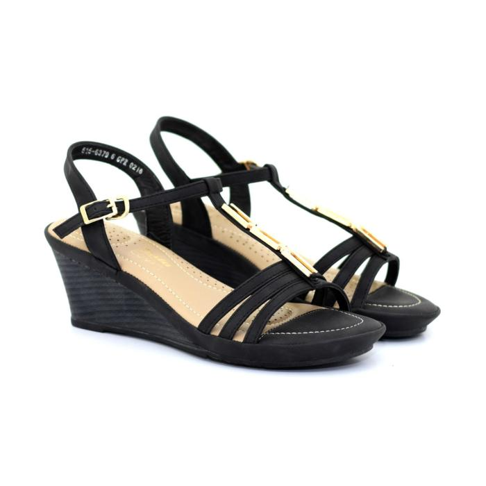 Black Stylish Comfy Heels