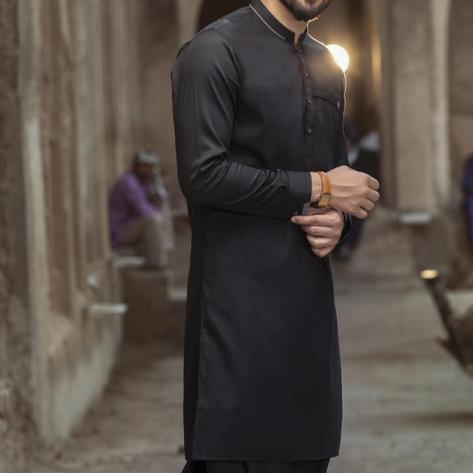 Almirah Festive Black Kurta Salwar