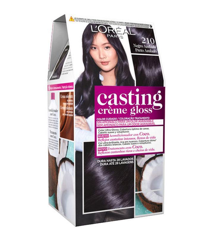 Casting Creme Gloss 210 Ashy Black Hair Color