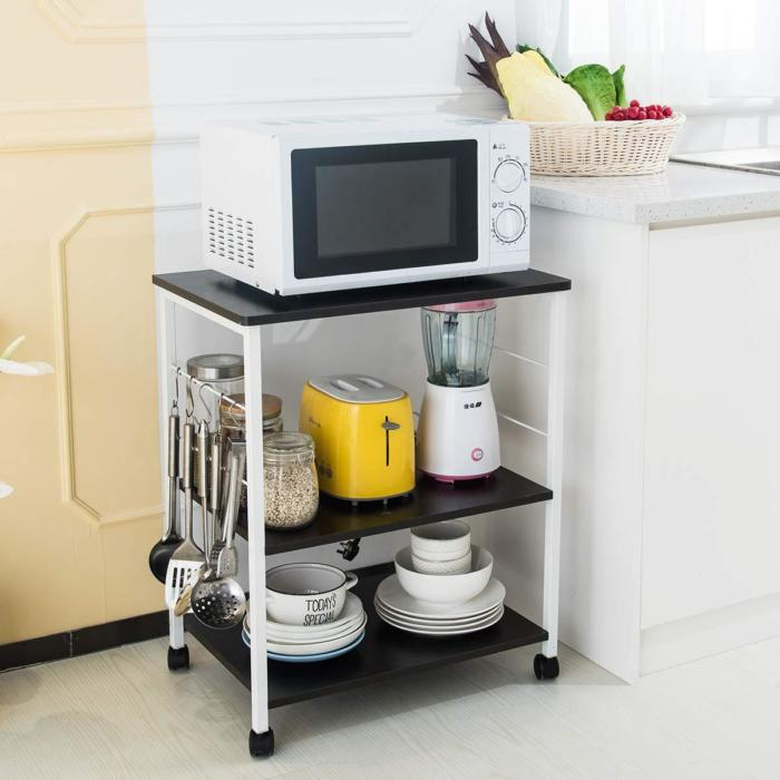 Microwave Trolley Organizer