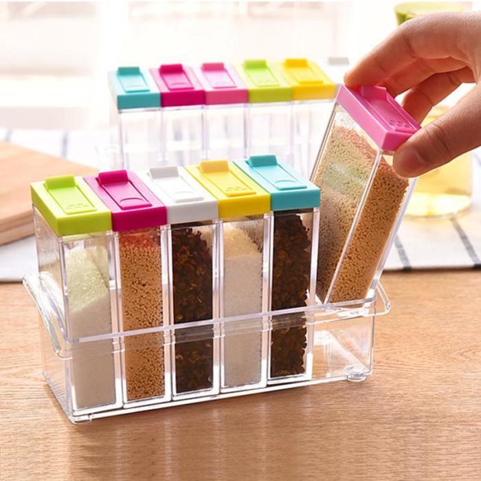 Compact Spice Organizer